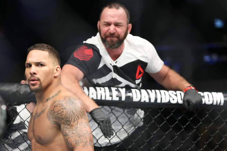 Eryk Anders UFC knockout artist
