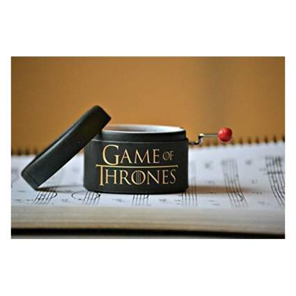 Miniature Game of Thrones music box