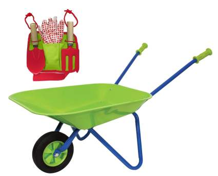Family Games Little Moppet Kids Wheelbarrow & Tool Belt Bundle