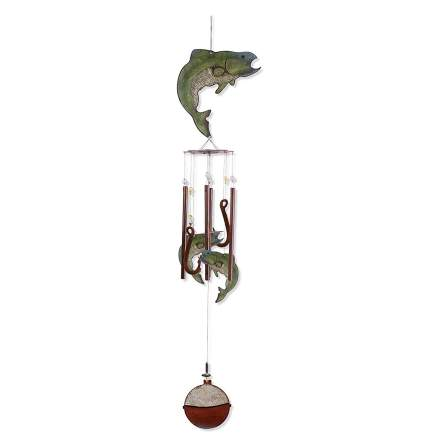 Sunset Vista Designs 36-Inch Long Catch of the Day Wind Chime