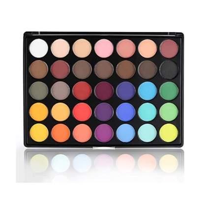 35 color matte eyeshadow palette
