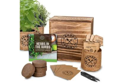 Garden Republic Indoor Herb Garden Starter Kit