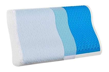 gel memory foam cooling pillow