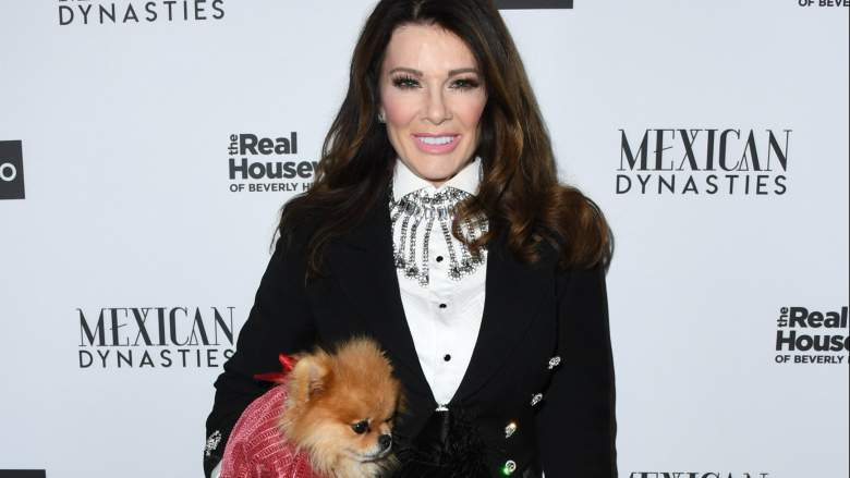 Lisa Vanderpump and dog