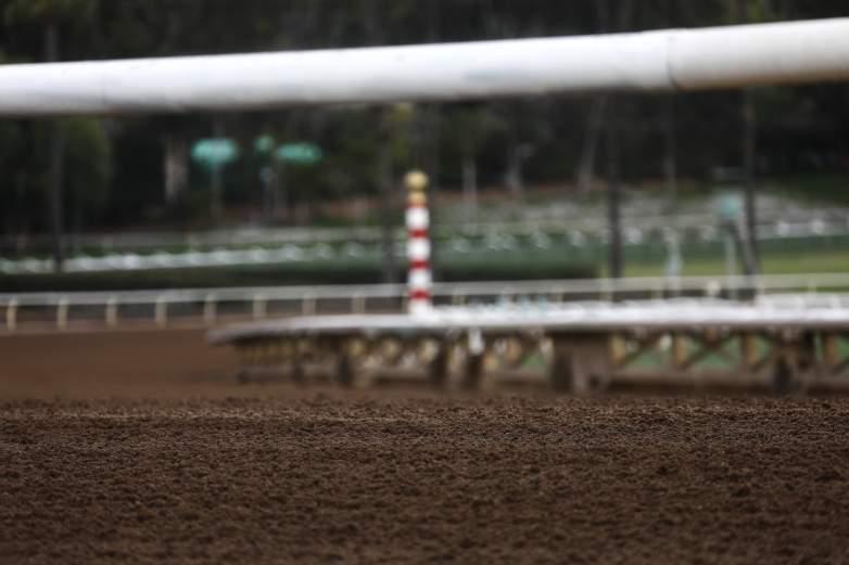Santa Anita Park Track