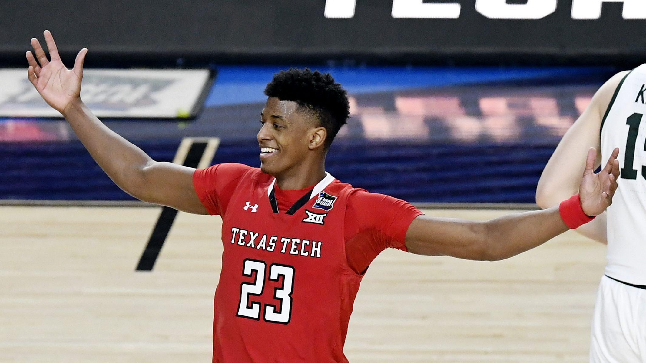 Texas Tech Basketball Roster Starting Lineup Vs Virginia Heavy Com