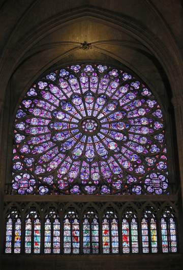 rose window notre-dame