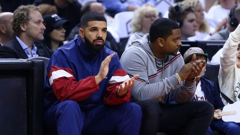 Drake Raptors Joel Embiid Video