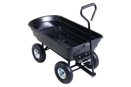 Giantex Garden Dump Cart Wagon Carrier
