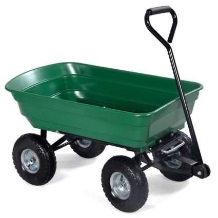 Giantex Garden Dump Cart Wagon Carrier