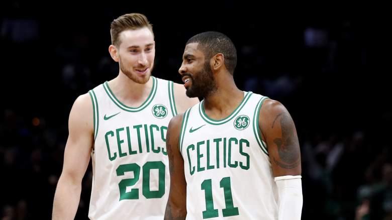 Gordon Hayward Kyrie Irving Celtics playoffs