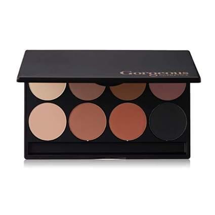 gorgeous cosmetics matte eyeshadow palette
