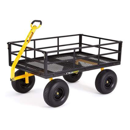 heavy duty steel garden cart