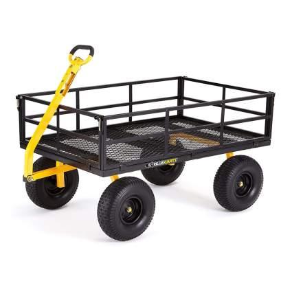 heavy duty steel garden cart