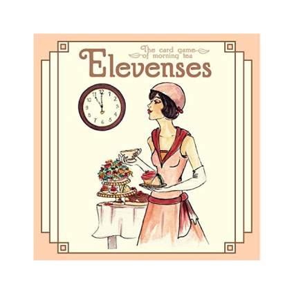 Pink box of Elevensies card game