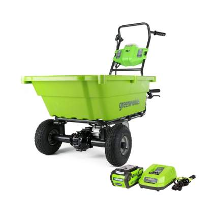 self propelled garden cart