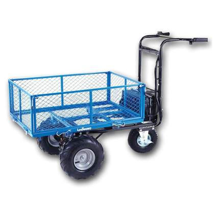 electric powered heavy duty utility cart