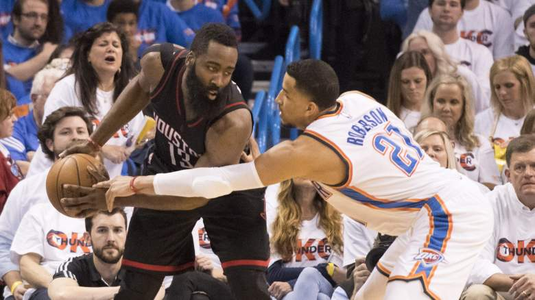 James Harden trade Houston Rockets Thunder