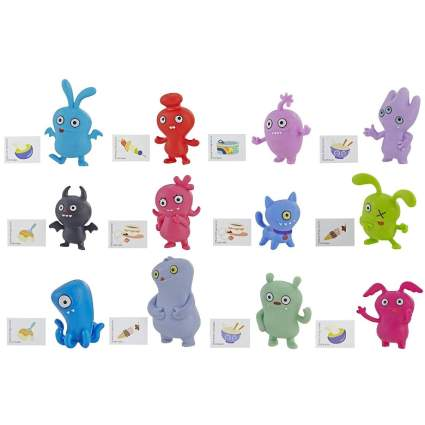 Hasbro Uglydolls Lotsa Ugly Mini Figures Series 1, 4 Accessories (Blind Bag)