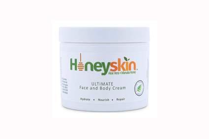 aloe vera and manuka honey face and body cream