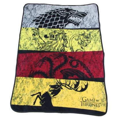 house banner game of thrones blanket