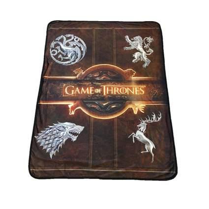 house sigil game of thrones blanket