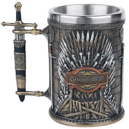 iron throne game of thrones stein