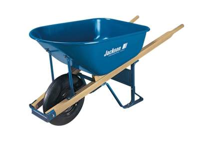 Jackson M6T22 6-Cubic-Foot Wheelbarrow