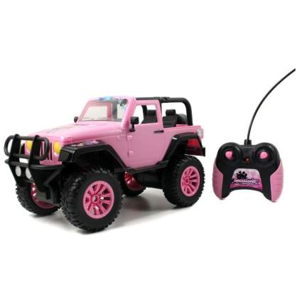 Jada Toys GIRLMAZING Big Foot Jeep R/C Vehicle