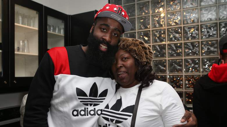 James Harden family mom dad brother sister