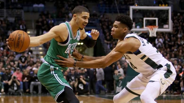 Milwaukee Bucks Boston Celtics 2019 nba playoff schedule prediction