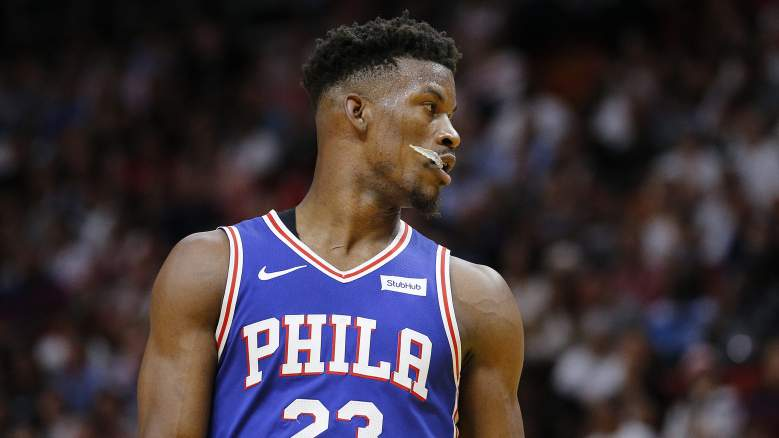 Miami Heat Jimmy Butler 76ers trade