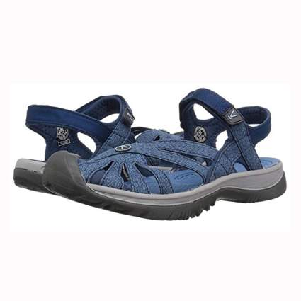blue keen women's hiking sandal