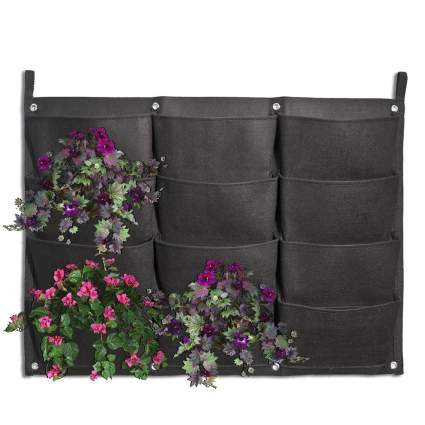 Kisstaker 12 Pocket Vertical Wall Planter