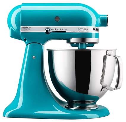 aqua blue kitchenaid mixer