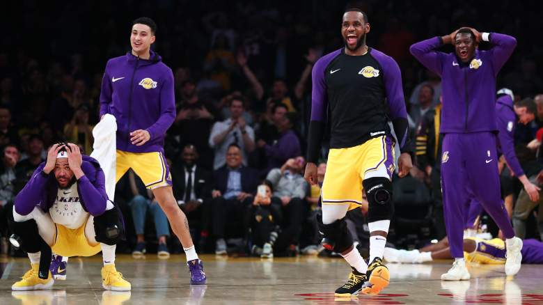 Los Angeles Lakers NBA Draft Lottery Chances