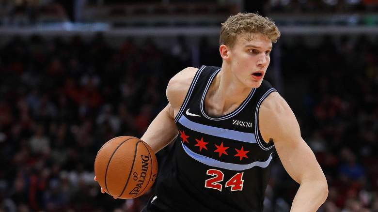 Bulls roster starting lineup Lauri Markkanen injury