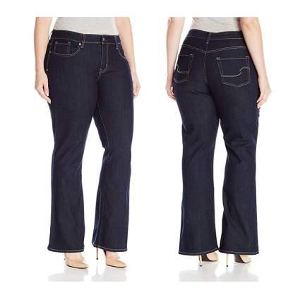 plus size boot cut jeans