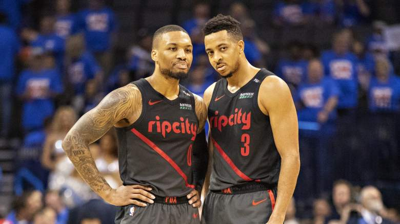 Portland Trail Blazers roster starting lineup