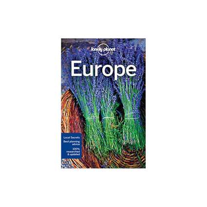 Lonely Planet Travel Guide Europe