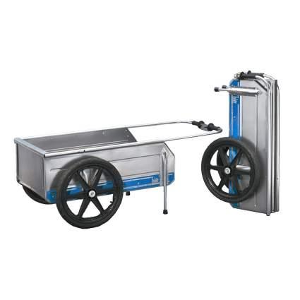 marine aluminum storage cart