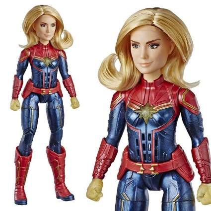 Marvel Captain Marvel Movie Photon Power Fx Captain Marvel Electronic Super Hero Doll