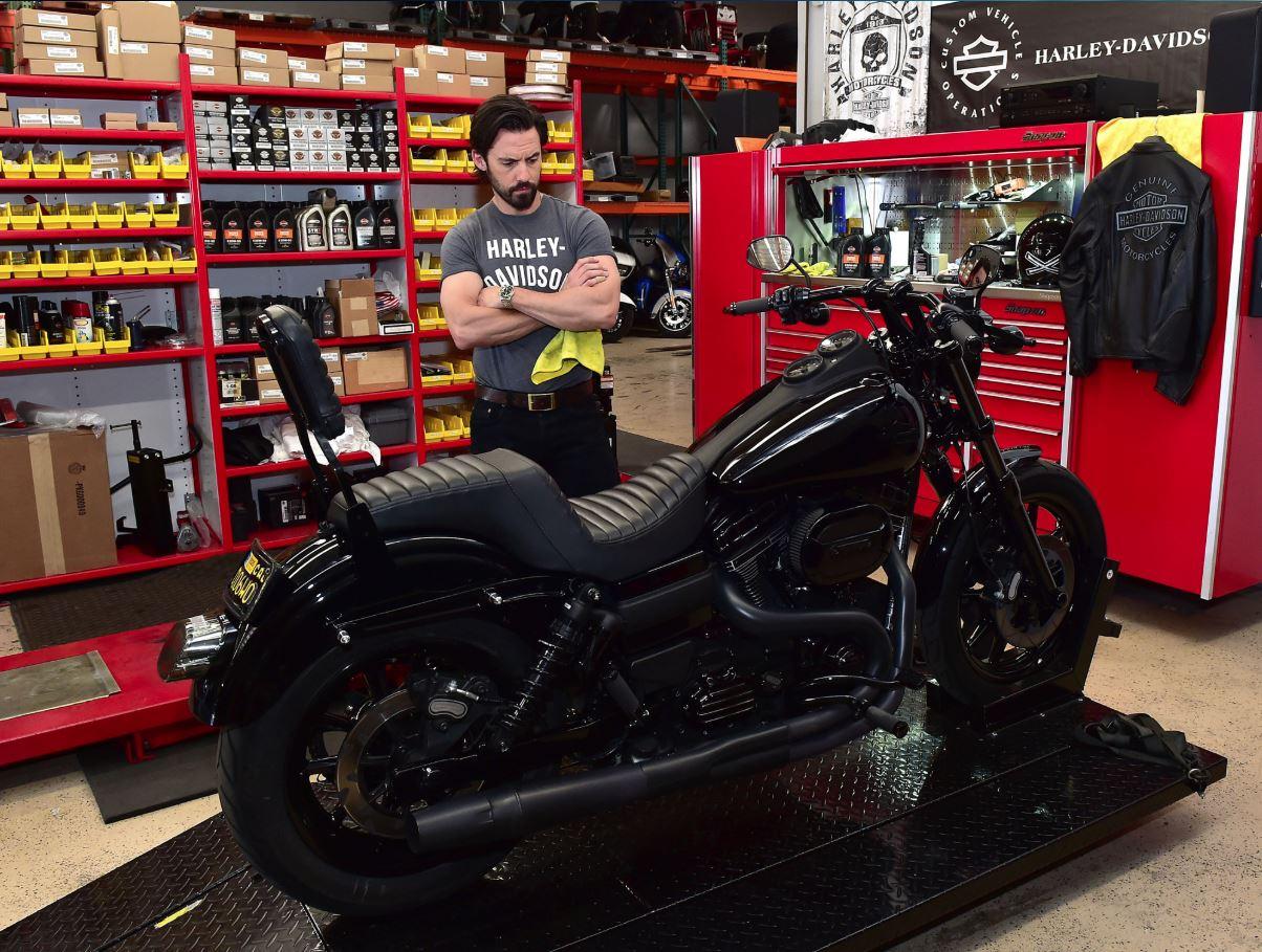 Milo Ventimiglia Harley Davidson