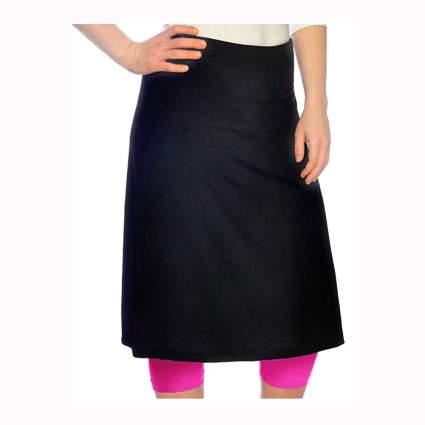 modest swim skirt with leggings