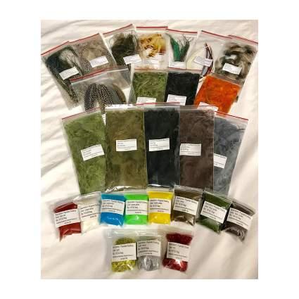 Muskoka Lifestyle Products Fly Tying Material Starter Kit