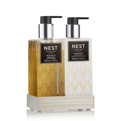 Nest hand soap and lotion set