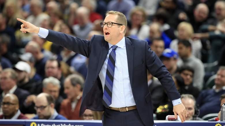 Nick Nurse Toronto Raptors head coach salary contract