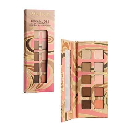pink nudes matte eyeshadow palette