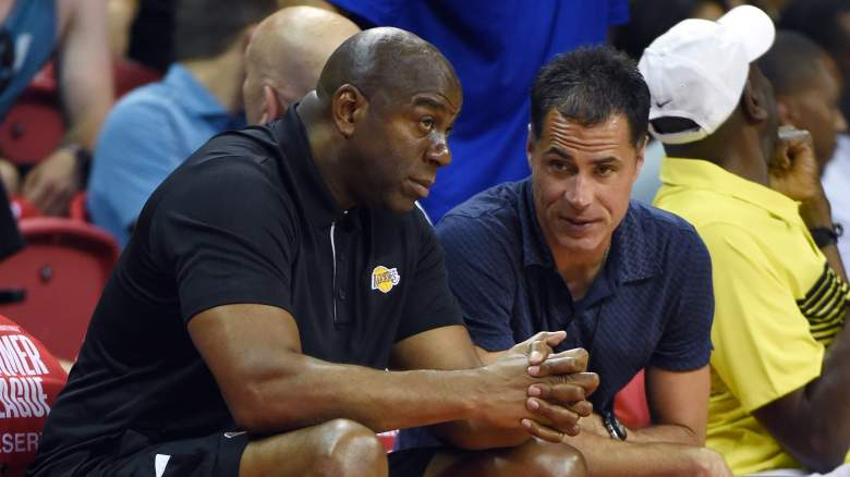 Lakers Magic Johnson Rob Pelinka