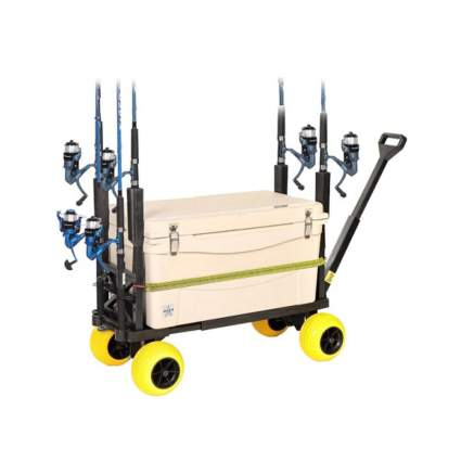 Plus One Cart Pier Fishing Cart